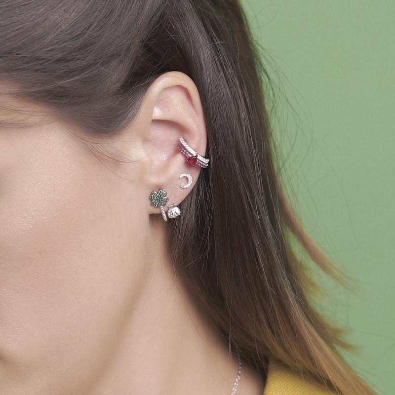 EAR CUFF CHIC ARO Y CORAZÓN