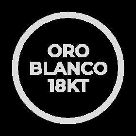 Oro Blanco 18kt